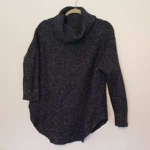Free People Wool Cowl Neck Sweater